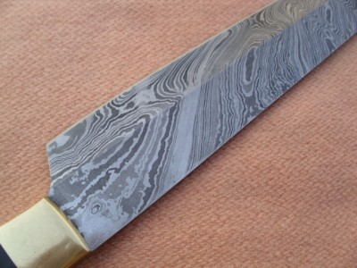 Damascus Machete