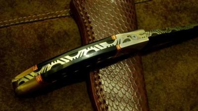 Damascus Skinning Blade Knife