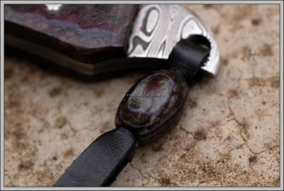 Handmade Damascus Utility Knife