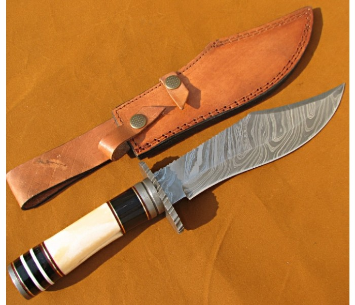 Camel Bone Hunting Bowie full image