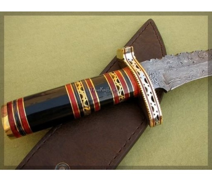 Hand Forge Damascus Steel Knife