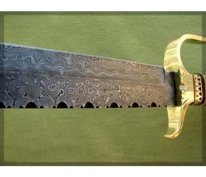 Bowie Knife camel bone handle